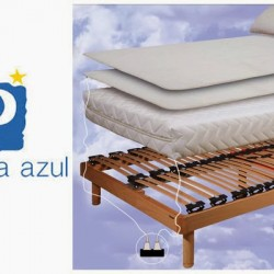 la cama azul natura