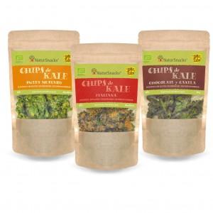 chips de kale natursnack
