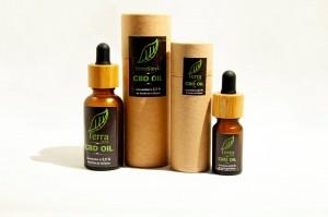 extracto de aceite de cáñamo con 2,5% de CBD